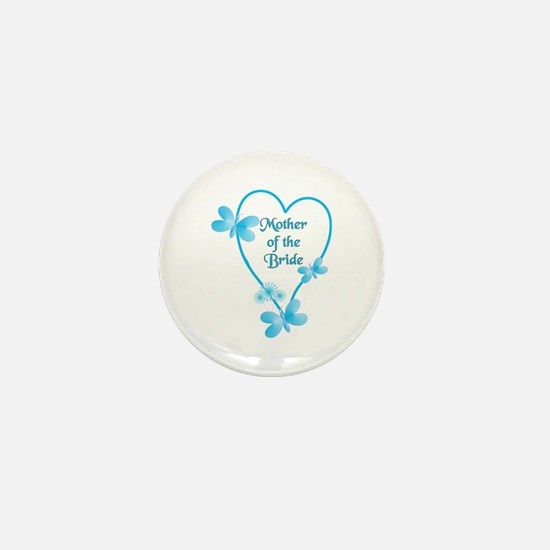 Cute Mother of the bride Mini Button (10 pack)