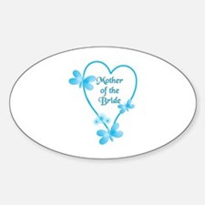 Cute Mother bride Sticker (Oval)