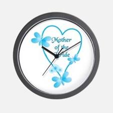 Cute Mother of the bride Wall Clock