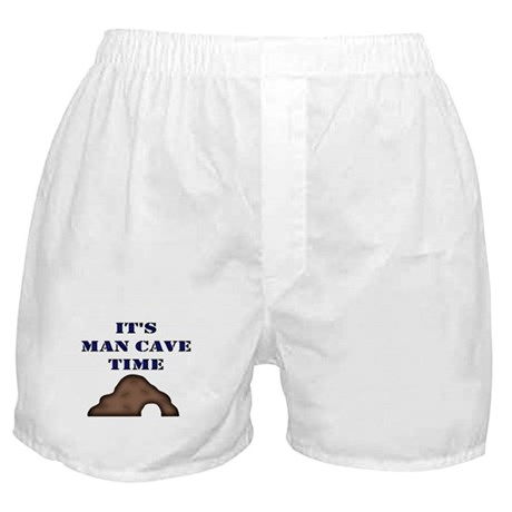 It's Man Cave Time Boxer Shorts