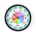 Good Morning Easy-Read Clock Face For Kids!