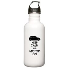 R56 Keep Calm and Carry On Mi Water Bottle