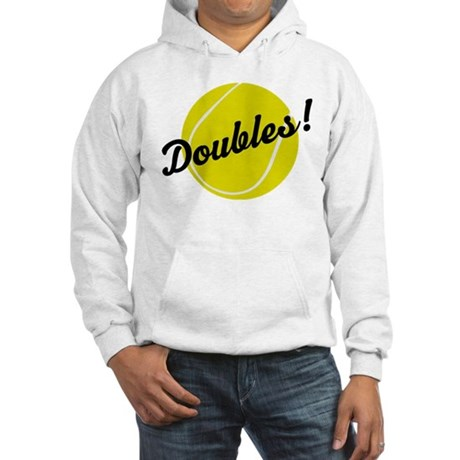 Tennis Doubles Hooded Sweatshirt