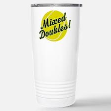 Tennis Mixed Doubles Travel Mug