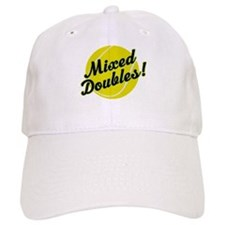 Tennis Mixed Doubles Baseball Cap