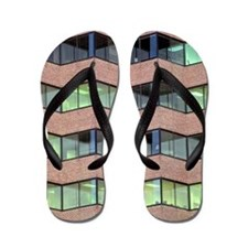 City Windows Flip Flops