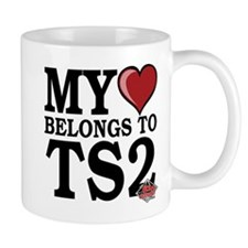 My Heart Belongs To TS2 Mug