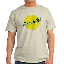Smash It Tennis Player Gift T-Shirt