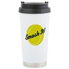 Smash It Tennis Player Gift Travel Mug