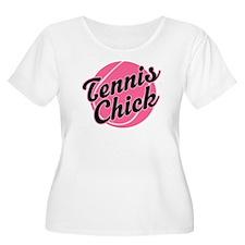 Tennis Chick Gift T-Shirt
