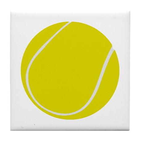 Tennis Player Gift Tile Coaster