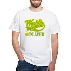 World's Best Tennis Player Shirt