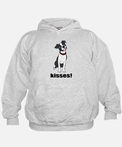 Boston Terrier Puppy Kisses Hoody