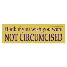 """""""Honk-wish"""" bumpersticker (10 pk)"""