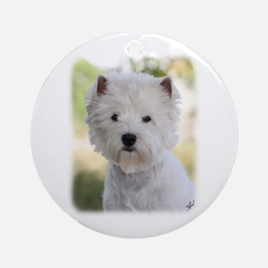 West Highland White Terrier 9Y788D-385 Ornament (R