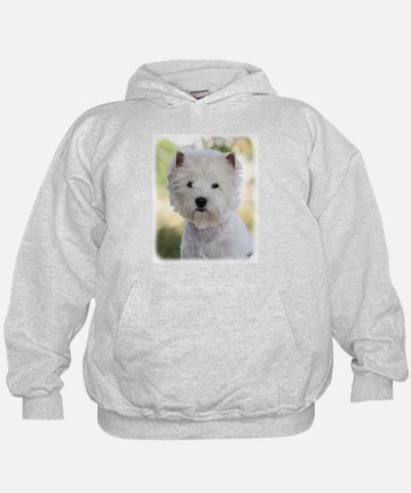 West Highland White Terrier 9Y788D-385 Hoodie