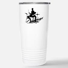 Drummer Drumming Travel Mug
