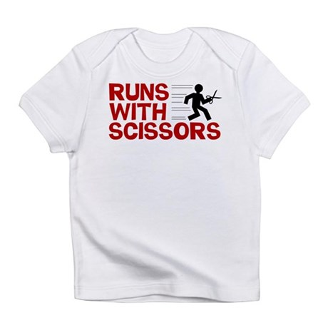 Runs With Scissors Infant T-Shirt