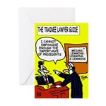 Trainee Lawyer's Greeting Cards (Pk of 20)
