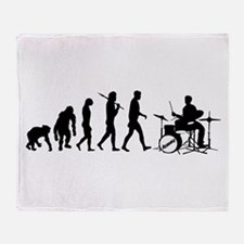 Drummers Drum Set Throw Blanket