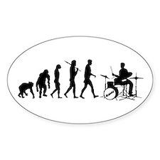 Drummers Drum Set Decal