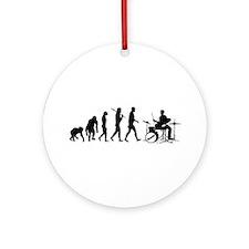 Drummers Drum Set Ornament (Round)