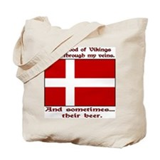 Danish Viking & Beer Tote Bag