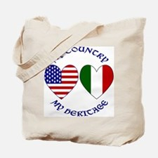 Italian Country Heritage Tote Bag