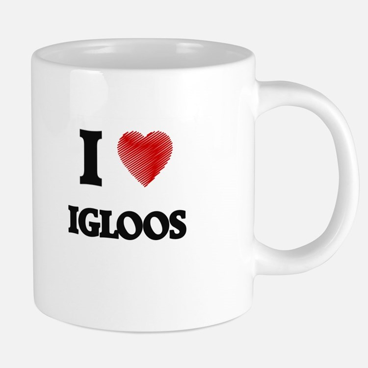 I love Igloos 20 oz Ceramic Mega Mug