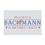 Batshit Crazy Bachmann Mini Poster Print