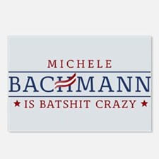 Batshit Crazy Bachmann Postcards (Package of 8)
