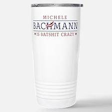 Batshit Crazy Bachmann Travel Mug