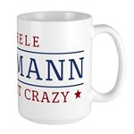 Batshit Crazy Bachmann Large Mug