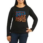 Fuck Up History Women's Long Sleeve Dark T-Shirt