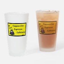 Cappuccino Drinking Glass