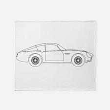 Aston Martin Zagato Throw Blanket