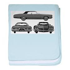 Chevy Caprice baby blanket