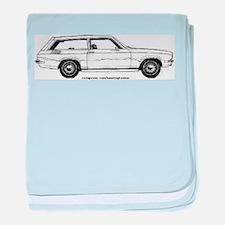 Chevy Vega baby blanket