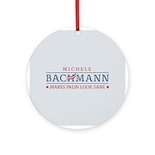 Bachmann Sanity Ornament (Round)