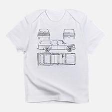 Chevy Suburban Infant T-Shirt