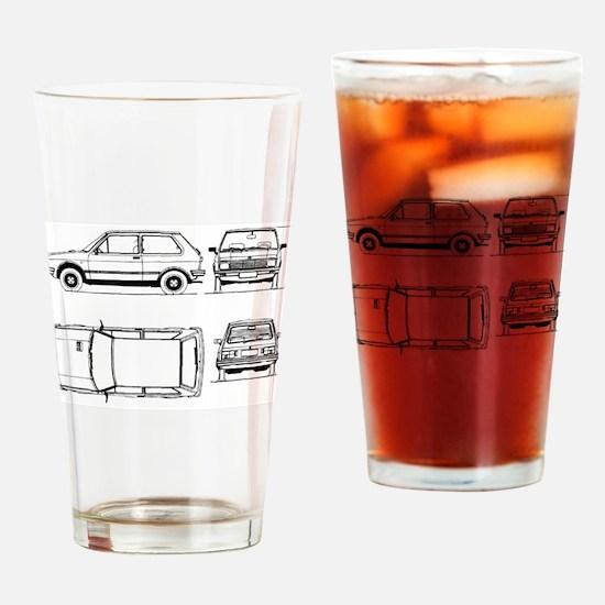 Yugo GV Drinking Glass