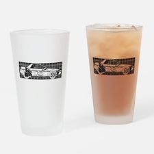 Pontiac Fiero Drinking Glass