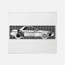 Pontiac Fiero Throw Blanket