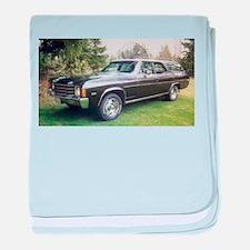 1972 Chevelle baby blanket