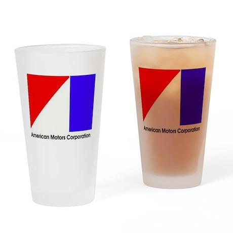 Named AMC Logo Drinking Glass