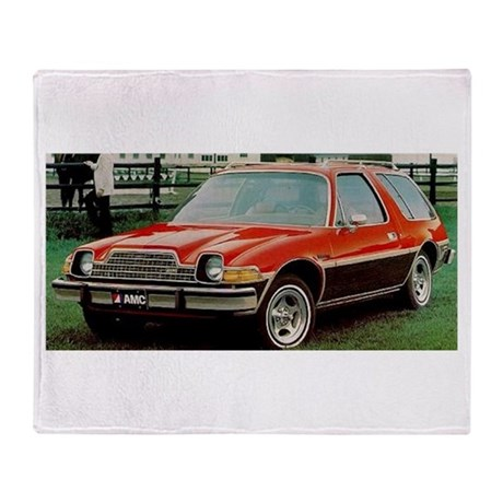 AMC Pacer Wagon Throw Blanket