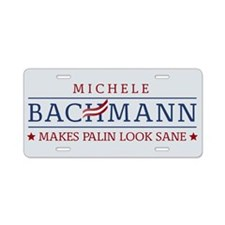 Bachmann Sanity Aluminum License Plate