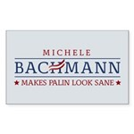 Bachmann Sanity Sticker (Rectangle 50 pk)