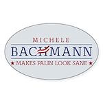 Bachmann Sanity Sticker (Oval 10 pk)