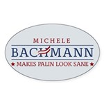 Bachmann Sanity Sticker (Oval)